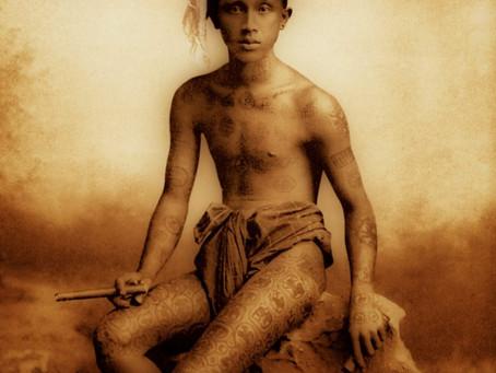 Archive du jour, tatouage birman