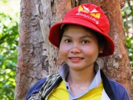 Environnement : Met Malen, 1ere cheffe de communauté dans la zone protégée de Phnom Chrab Trey Ksant