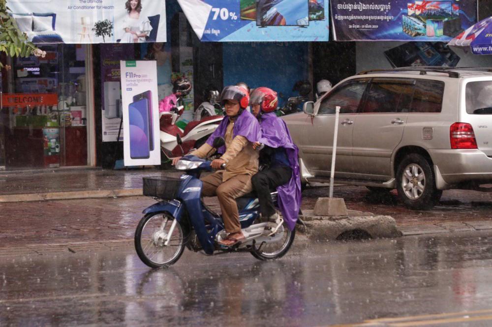 Le Cambodge connaîtra des pluies légères à modérées