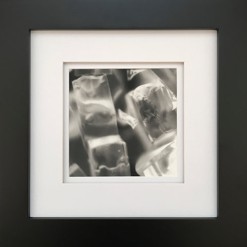 Untitled Darkroom Study with Glass #2 (framed)