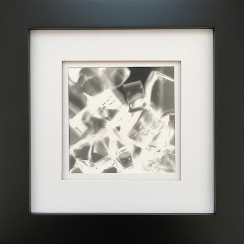 Untitled Darkroom Study with Glass #1 (framed)
