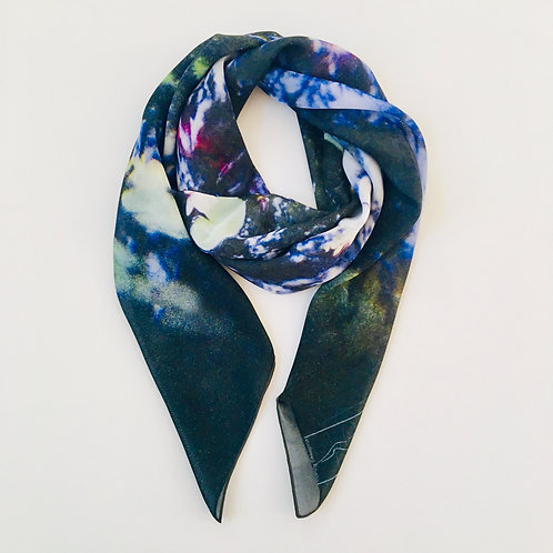 Water Lily & Koi Pond Scarf