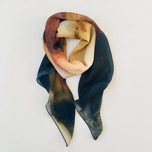 Chemigram scarf