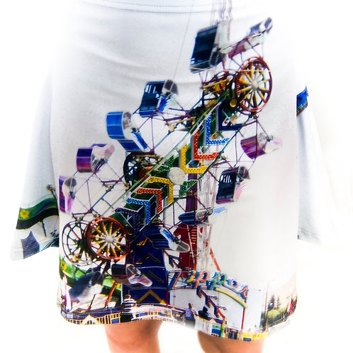 Fun Fair flare skirt
