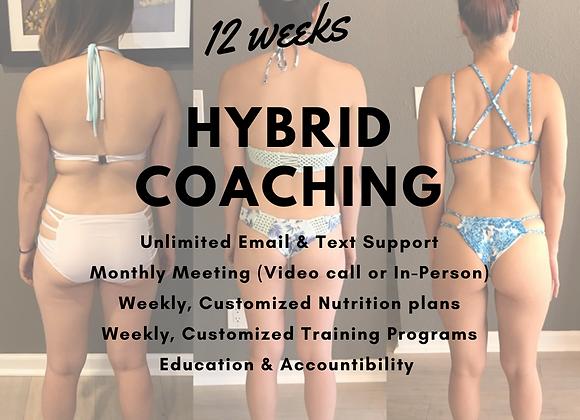 HYBRID COACHING, 12 week package