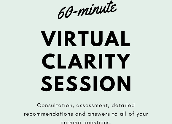 Virtual Coaching Session, 60 minutes