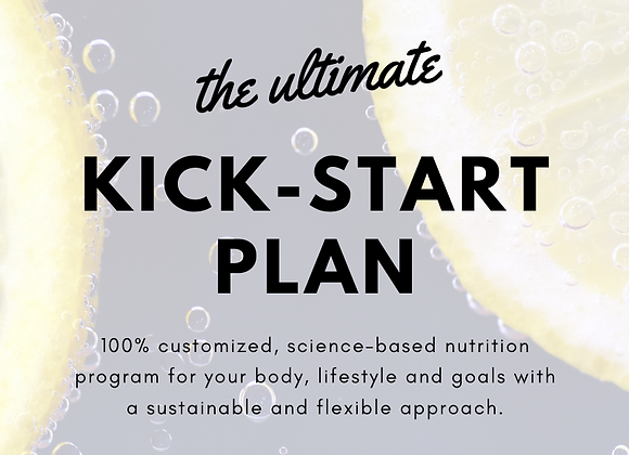 One detailed, truly custom nutrition and training program & all of my ebooks