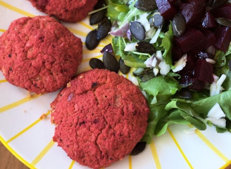 Beetroot Burger Patties | Vegan & GF
