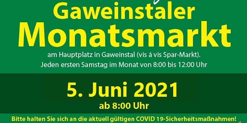Monatsmarkt in Gaweinstal