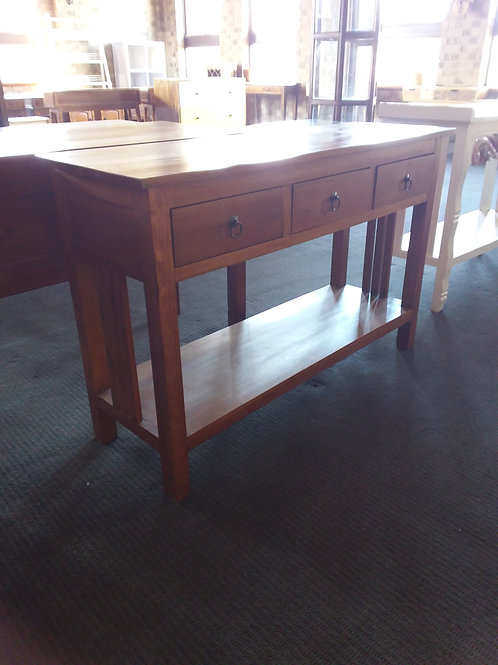 Console table with 3 drawers