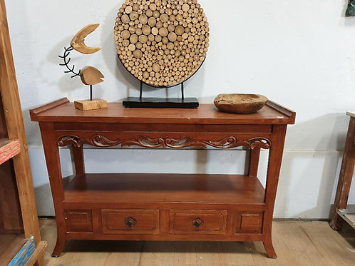 CONSOLE TABLE 2 DRAWS
