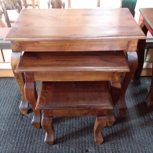 Nest of table, set of 3
