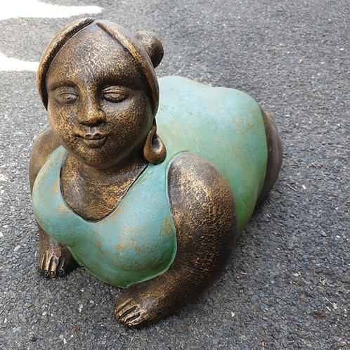 Chunky laddies statues