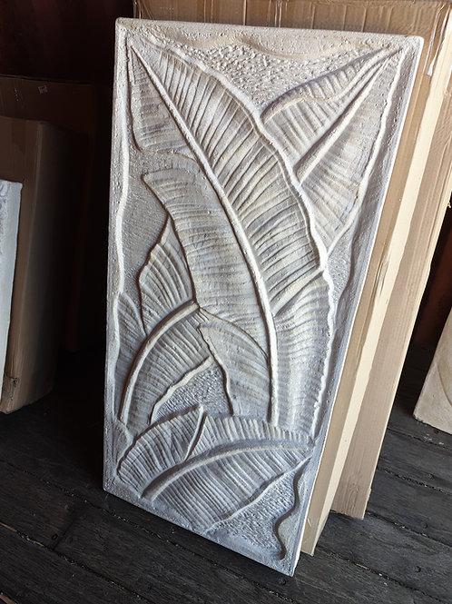 Banana Leaf wall plaque