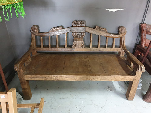 Balinese daybed/ bench