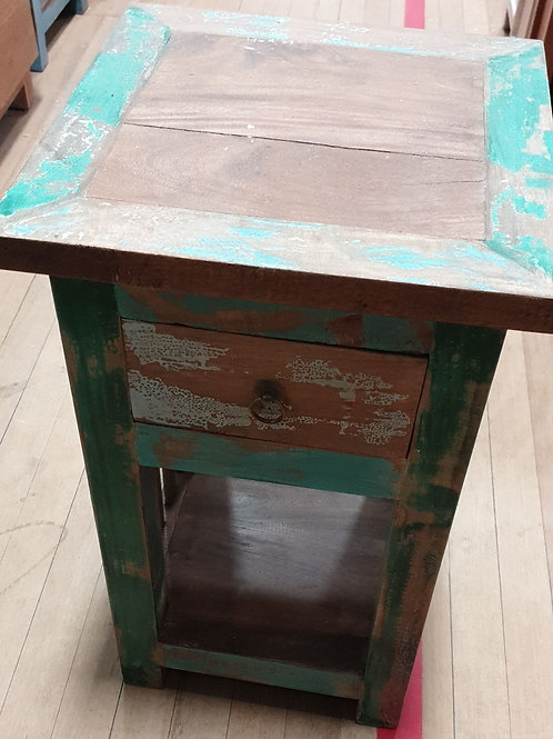 Boatwood recycled bedside