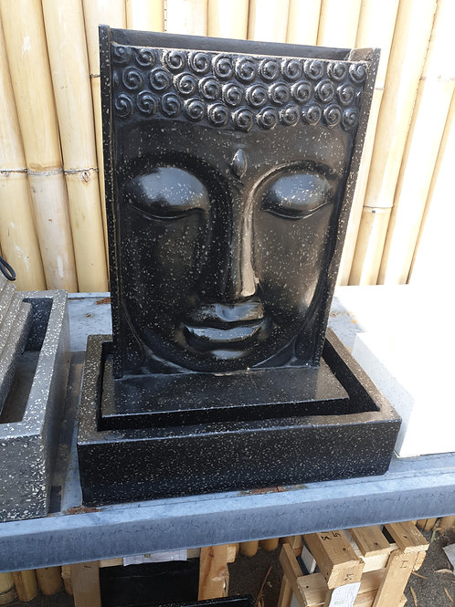 Buddha face water feature