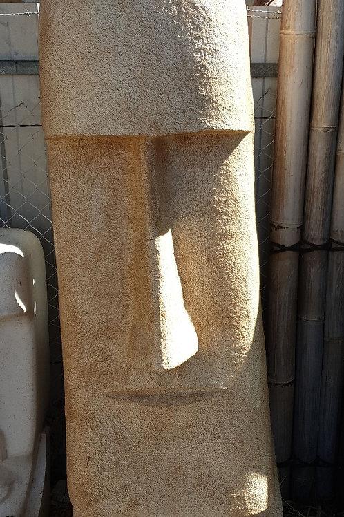 Eastern head statue