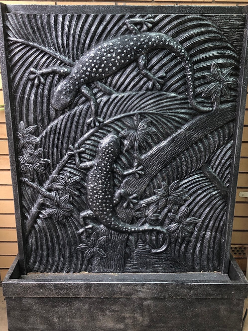 Gecko Water Feature