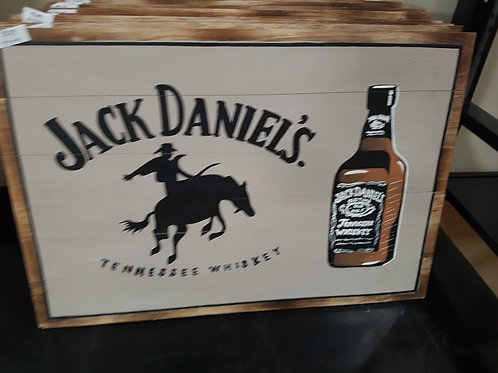 WOODEN ALCOHOL SIGNS