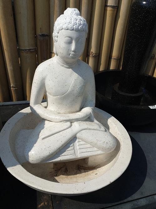 Sitting buddha water feature