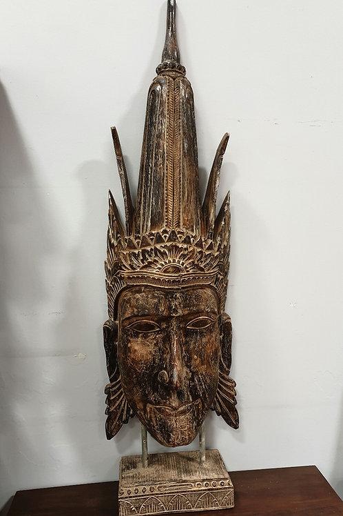 Balinese princes head statue