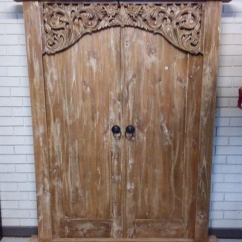 Balinese double door