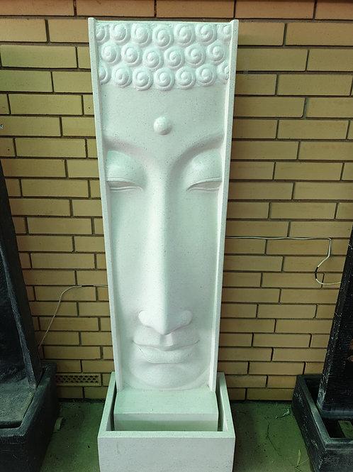 Long face buddha water feature