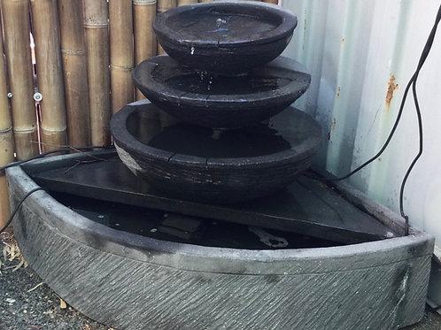 Corner Water Feature Pot to Pot
