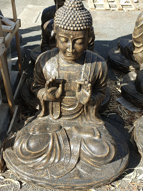 Both hand blessings Buddha