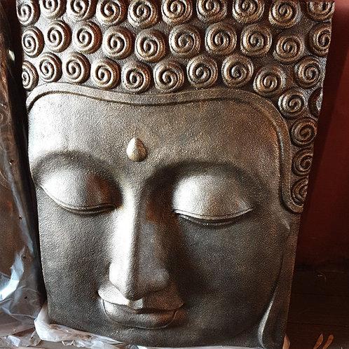 Buddha Face wall plaque