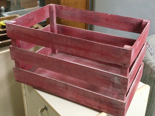 Crate Wooden 55cm