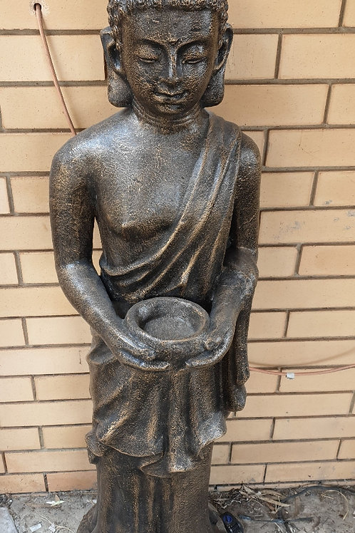 Standing Buddha with a bowl in hand