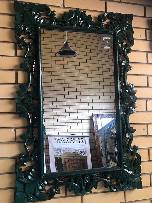 Balinese Carved Mirror (Medium)
