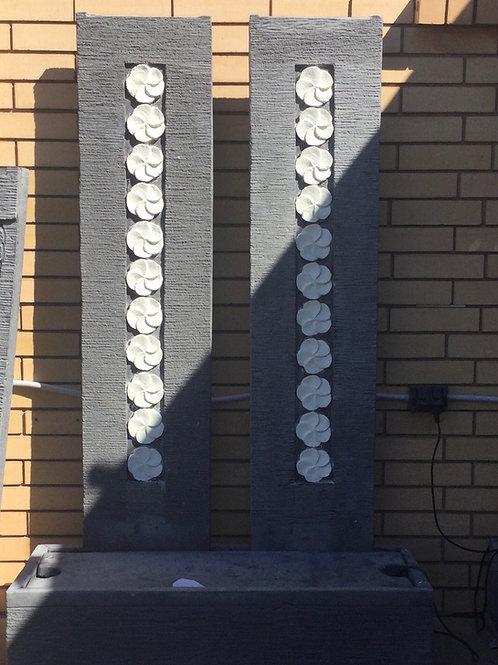 2 Pillar Water Feature 120cm