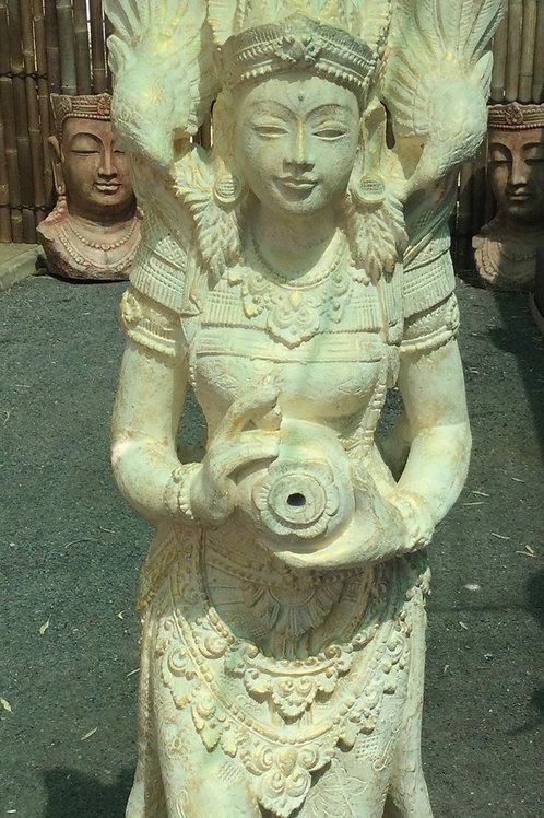 Balinese Princess Figure Water Feature