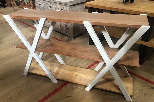 Teak Hall Table Shelf Stand