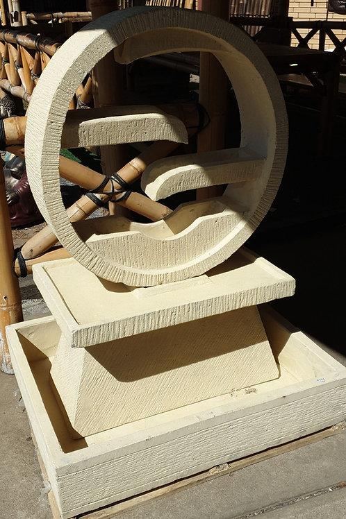 Wheel water feature