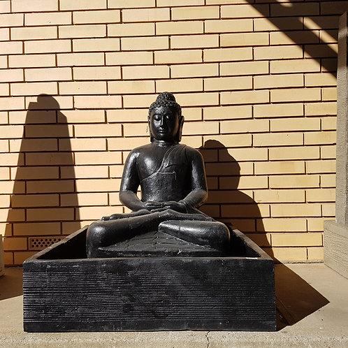 WATER FEATURE SITTING BUDDHA