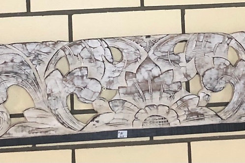 Balinese Wall Plaque Carved
