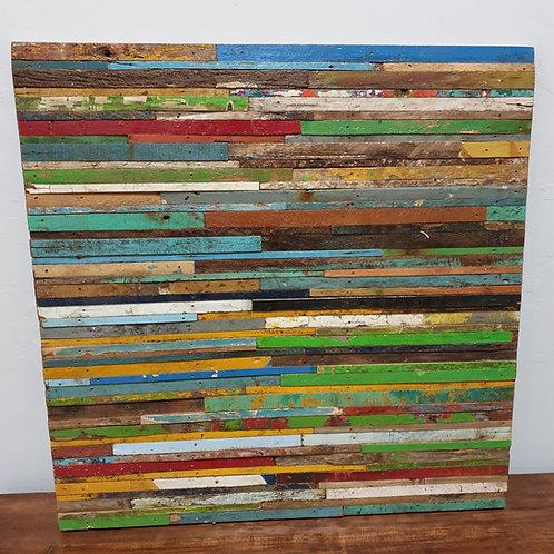 Boat wood wall panel
