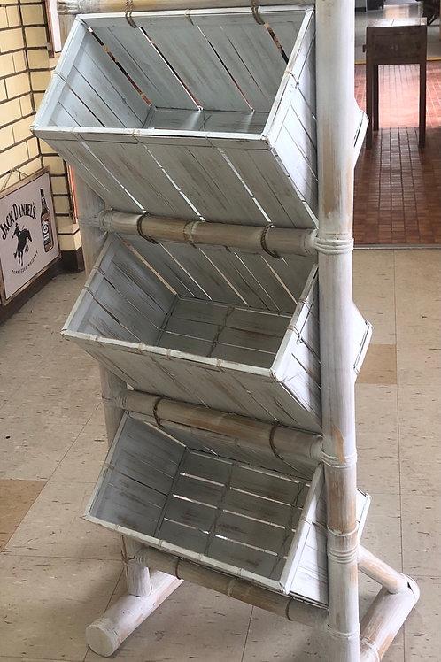 3 Tier Bamboo Storage Unit