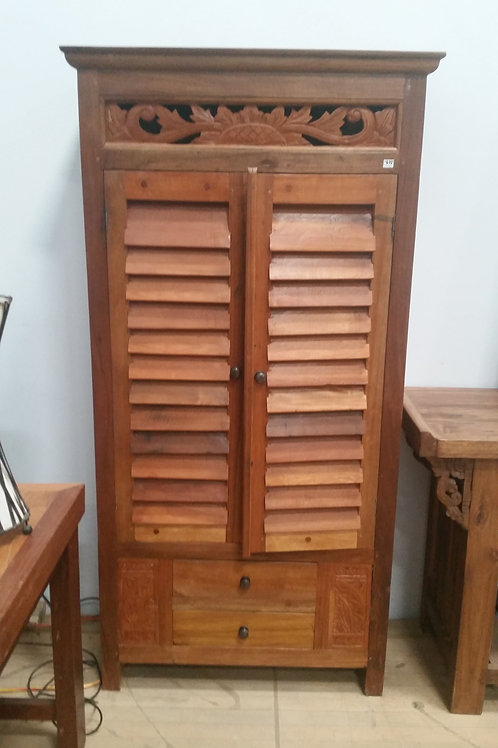 Balinese Cabinet with 2 drawers