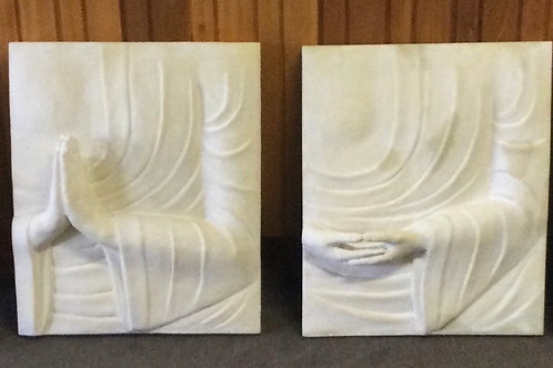 Buddha Hand Plaque