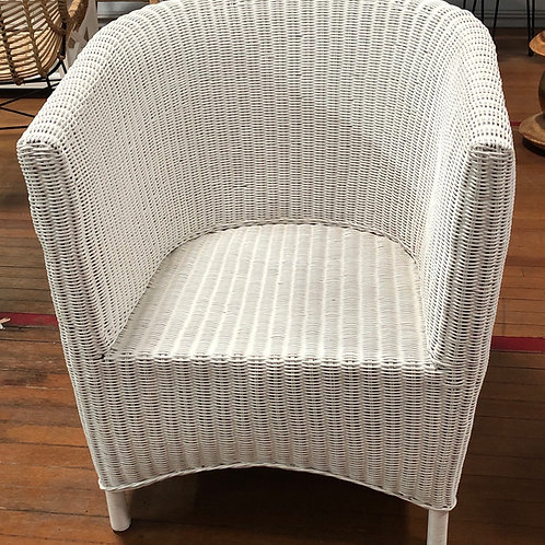 Cane Wicker Chair U Shape