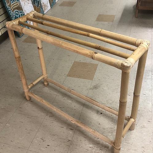 Towel Rack Bamboo