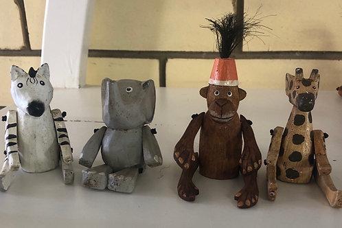 Mixed Animals set of 4