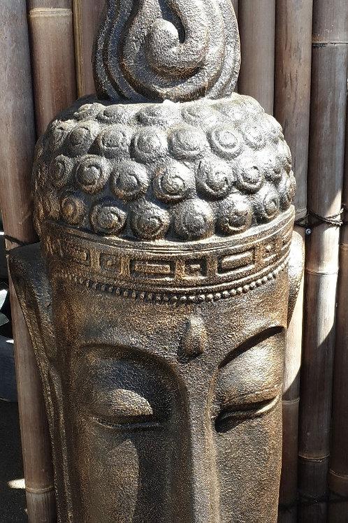 Huge buddha head