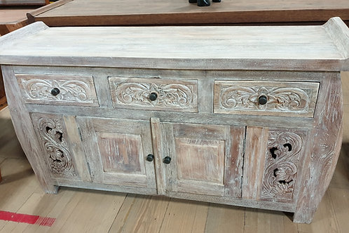 Balinese carved buffet