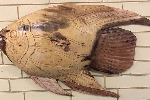 Wooden Sun Fish